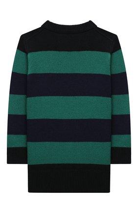 Детский шерстяной пуловер ACNE STUDIOS разноцветного цвета, арт. D60008 | Фото 2