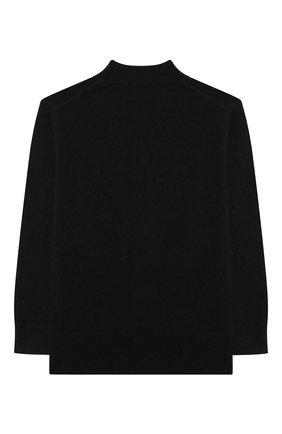 Детский шерстяной кардиган ACNE STUDIOS черного цвета, арт. D60006 | Фото 2