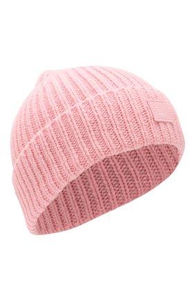 Детского шерстяная шапка ACNE STUDIOS розового цвета, арт. D40001   Фото 1