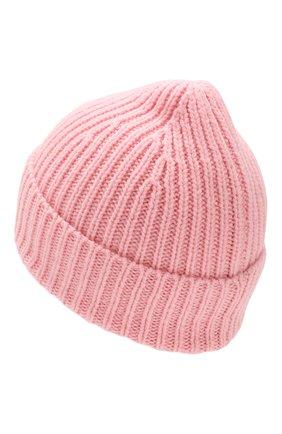 Детского шерстяная шапка ACNE STUDIOS розового цвета, арт. D40001   Фото 2