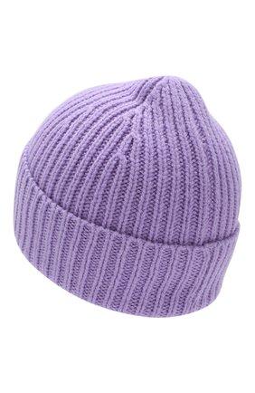 Детского шерстяная шапка ACNE STUDIOS фиолетового цвета, арт. D40001 | Фото 2