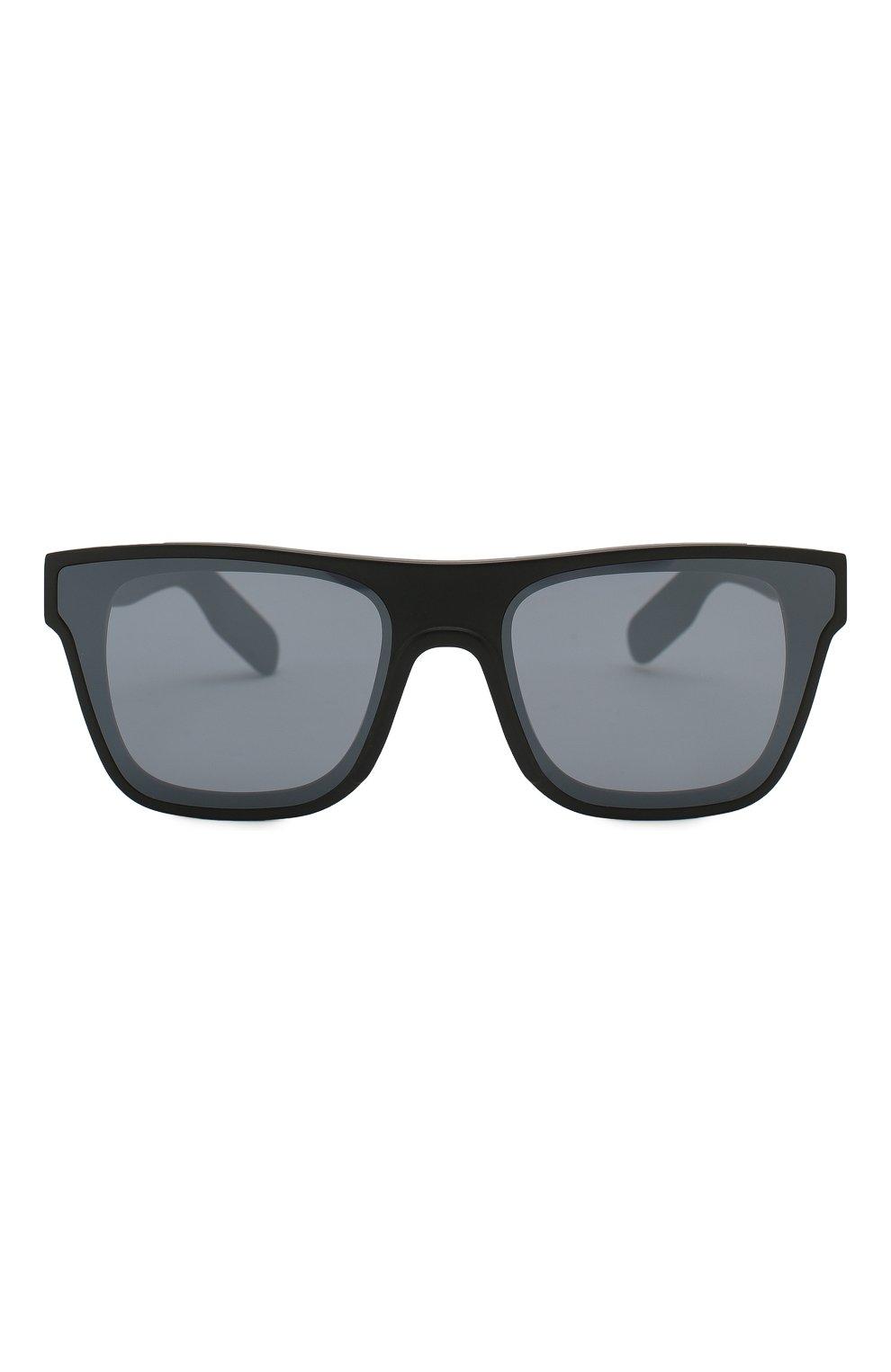 Мужские солнцезащитные очки KENZO черного цвета, арт. KZ40018U 02C   Фото 3