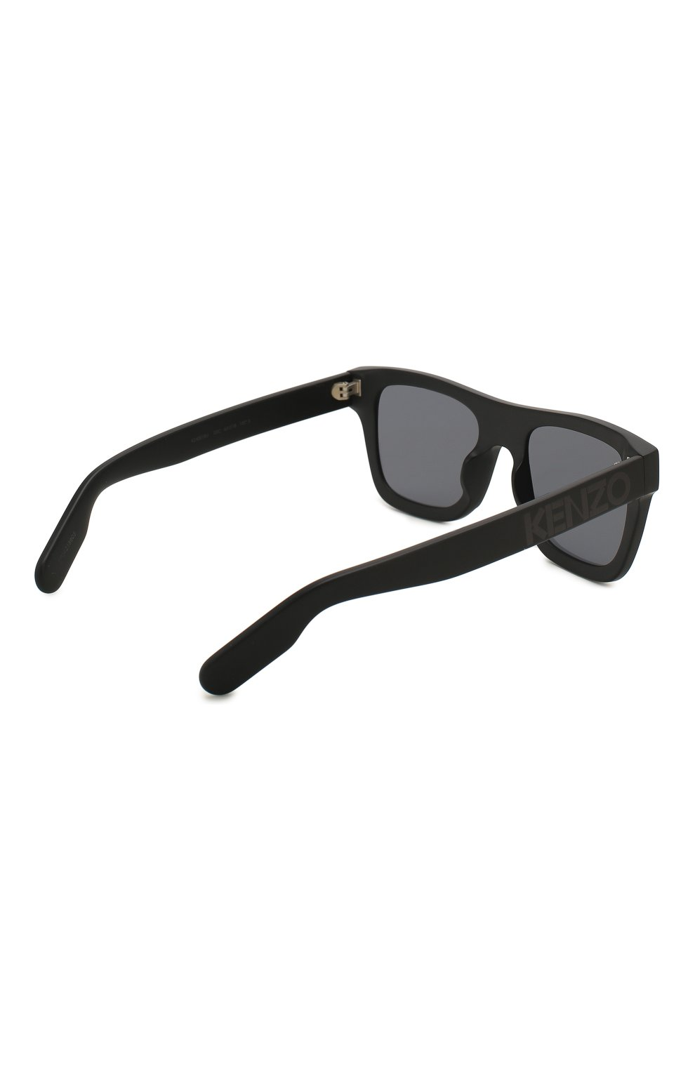 Мужские солнцезащитные очки KENZO черного цвета, арт. KZ40018U 02C   Фото 4