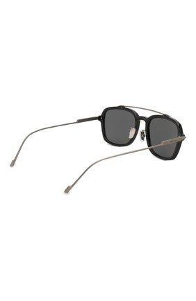 Мужские солнцезащитные очки JIMMY CHOO черного цвета, арт. KEVIN 807 | Фото 4