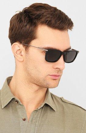Мужские солнцезащитные очки JIMMY CHOO черного цвета, арт. RYAN 807 | Фото 2