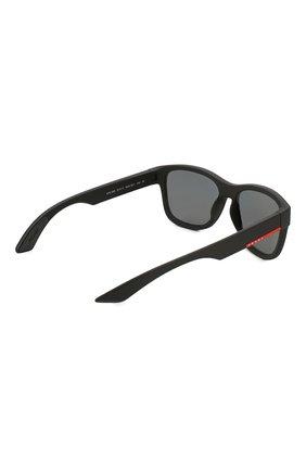 Мужские солнцезащитные очки PRADA LINEA ROSSA черного цвета, арт. 03QS-DG05Z1 | Фото 4