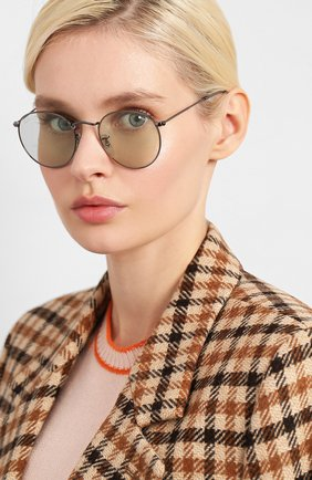 Женские солнцезащитные очки RAY-BAN зеленого цвета, арт. 3447-004/T1 | Фото 2