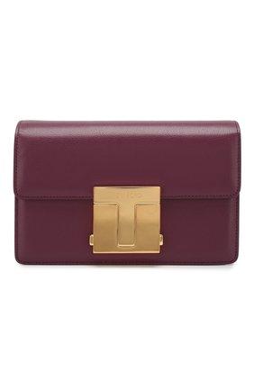 Женская сумка TOM FORD сиреневого цвета, арт. L1262T-LG0009   Фото 1