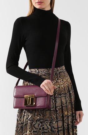 Женская сумка TOM FORD сиреневого цвета, арт. L1262T-LG0009   Фото 2