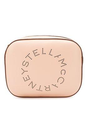 Женская сумка stella logo mini STELLA MCCARTNEY светло-розового цвета, арт. 700072/W8542 | Фото 1
