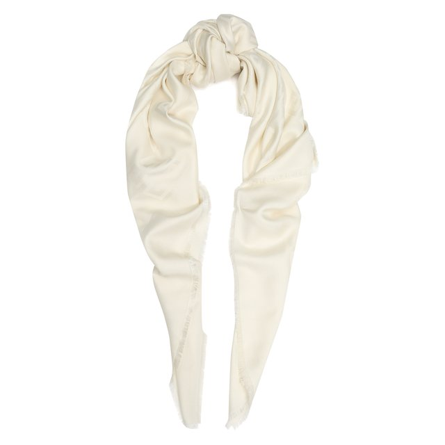Платок из смеси шелка и шерсти Givenchy