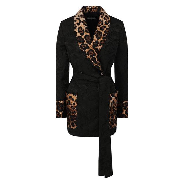 Жакет с поясом Dolce & Gabbana