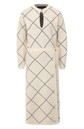 Женское платье из вискозы PROENZA SCHOULER бежевого цвета, арт. R2017365-KY176 | Фото 1