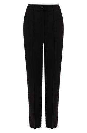 Женские шерстяные брюки DOLCE & GABBANA черного цвета, арт. FTAM2T/FUCC6 | Фото 1