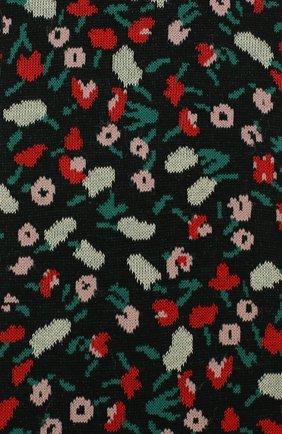 Женские хлопковые носки MARNI черного цвета, арт. SKMC0061Q0/FC1B8 | Фото 2