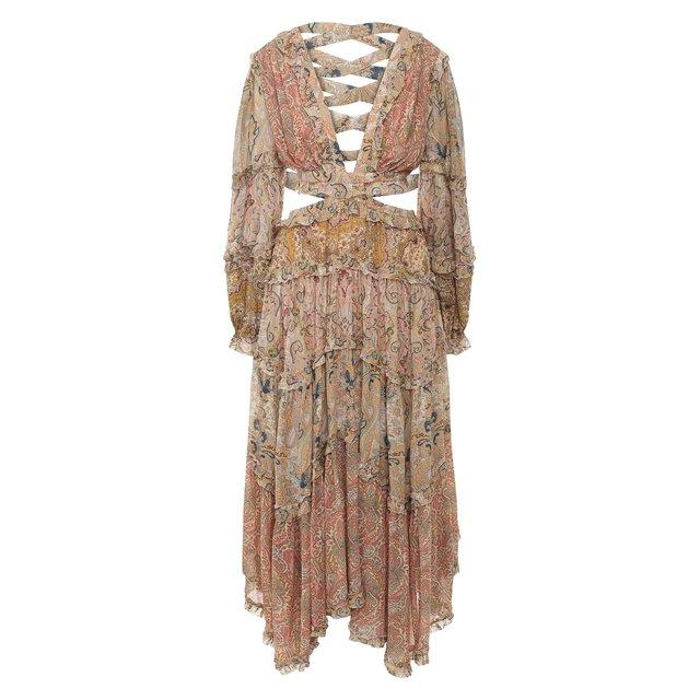 Платье из вискозы Zimmermann