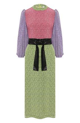 Женское шелковое платье OLIVIA RUBIN разноцветного цвета, арт. 0R0224/SERAPHINA DRESS | Фото 1