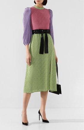 Женское шелковое платье OLIVIA RUBIN разноцветного цвета, арт. 0R0224/SERAPHINA DRESS | Фото 2