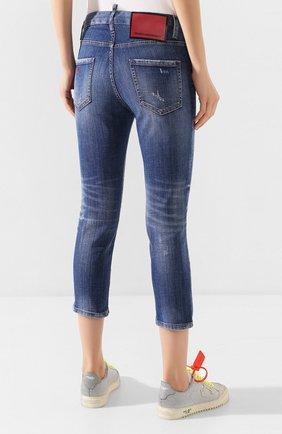 Женские джинсы DSQUARED2 синего цвета, арт. S75LB0322/S30342   Фото 4