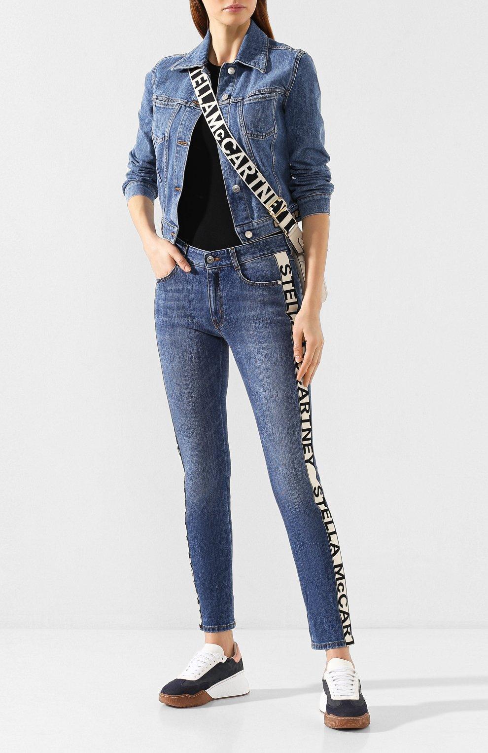 Женские джинсы STELLA MCCARTNEY синего цвета, арт. 372773/SNH55 | Фото 2