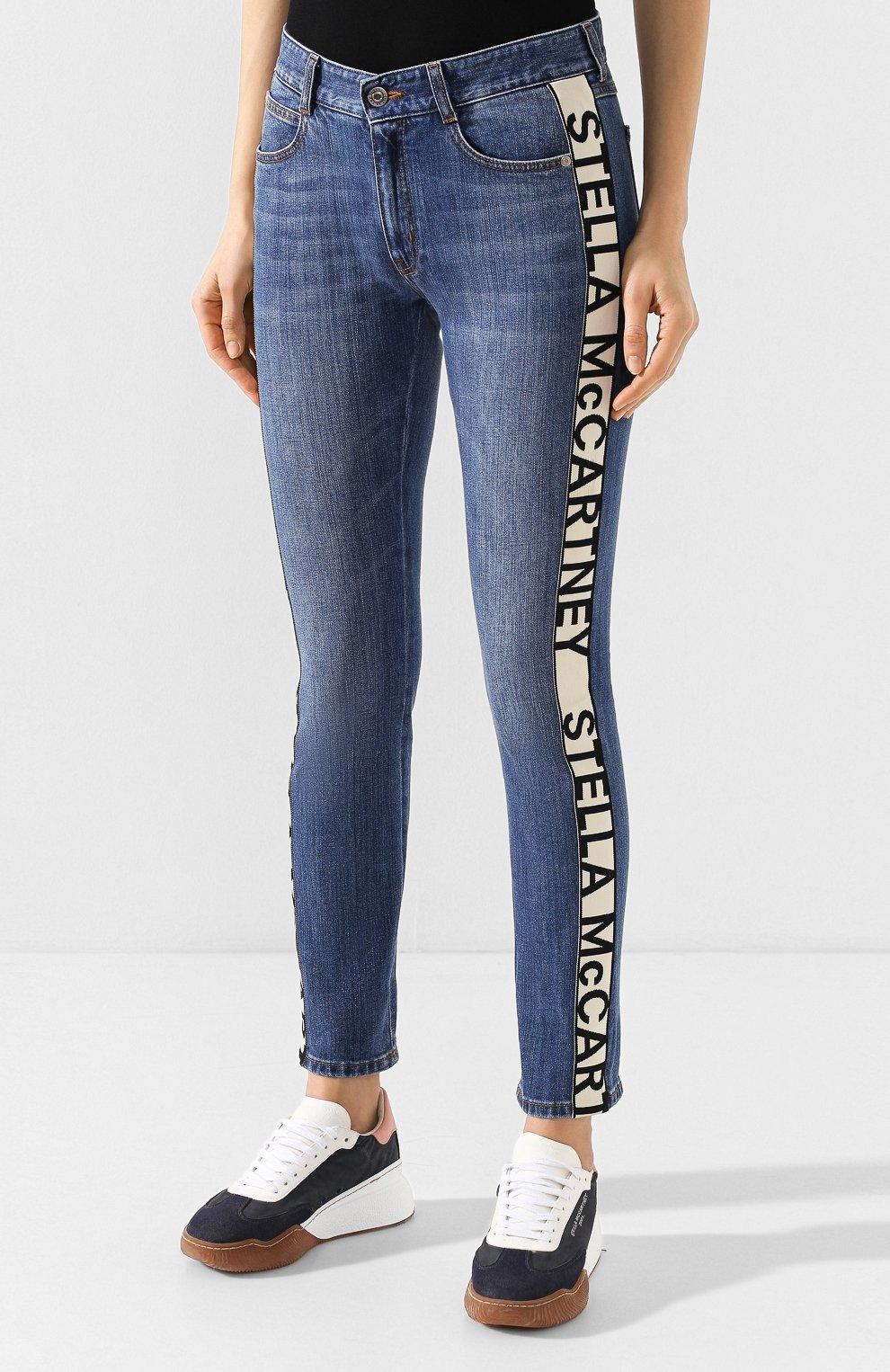 Женские джинсы STELLA MCCARTNEY синего цвета, арт. 372773/SNH55 | Фото 3