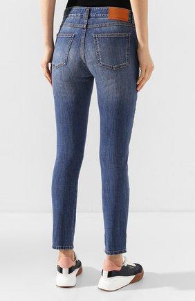 Женские джинсы STELLA MCCARTNEY синего цвета, арт. 372773/SNH55 | Фото 4