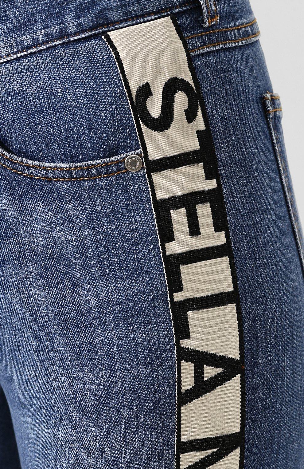 Женские джинсы STELLA MCCARTNEY синего цвета, арт. 372773/SNH55 | Фото 5