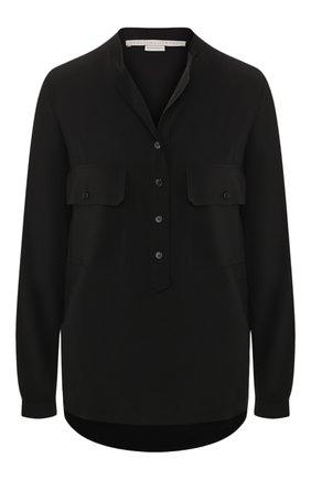 Женская шелковая блузка STELLA MCCARTNEY черного цвета, арт. 531899/SY206   Фото 1
