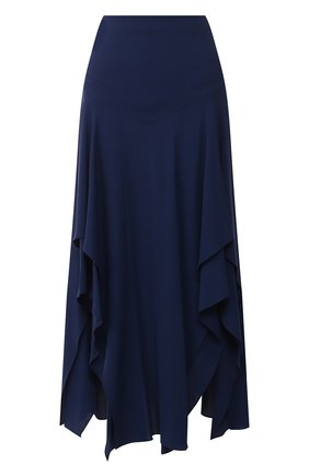 Женская юбка из вискозы STELLA MCCARTNEY синего цвета, арт. 600302/SNA60 | Фото 1