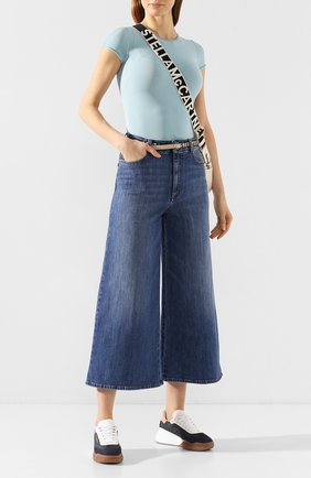 Женские джинсы STELLA MCCARTNEY синего цвета, арт. 600447/SNH54 | Фото 2