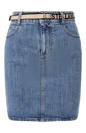 Женская джинсовая юбка STELLA MCCARTNEY синего цвета, арт. 600450/SNH59 | Фото 1