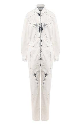 Женский джинсовый комбинезон STELLA MCCARTNEY серого цвета, арт. 600465/SNH78 | Фото 1