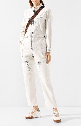 Женский джинсовый комбинезон STELLA MCCARTNEY серого цвета, арт. 600465/SNH78 | Фото 2