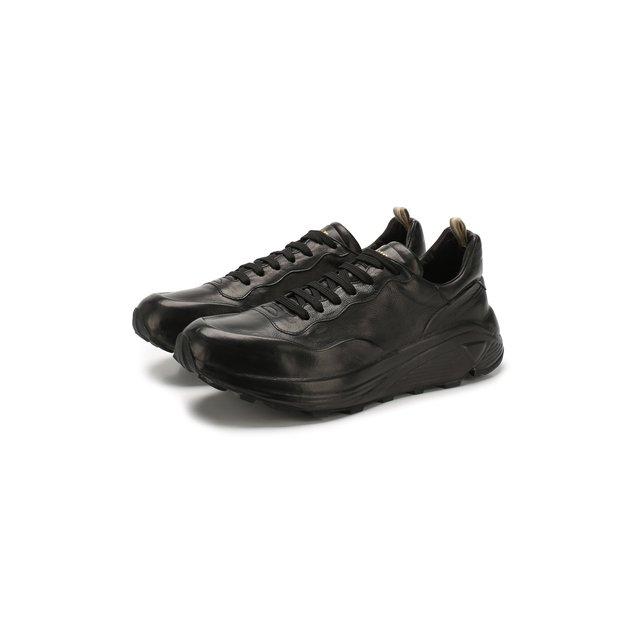 Кожаные кроссовки Officine Creative — Кожаные кроссовки