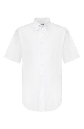 Мужская хлопковая сорочка BRIONI белого цвета, арт. SCDG0L/08010 | Фото 1