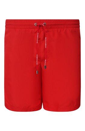 Детского плавки-шорты DOLCE & GABBANA красного цвета, арт. M4A68T/FUSFW | Фото 1