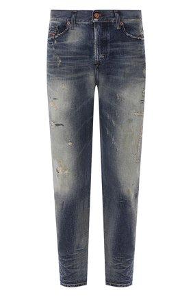 Мужские джинсы DIESEL синего цвета, арт. 00SSQ3/0098S | Фото 1