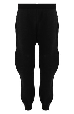 Мужской джоггеры из смеси шерсти и вискозы BOTTEGA VENETA темно-серого цвета, арт. 601058/VKN30 | Фото 1