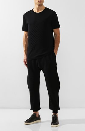 Мужской джоггеры из смеси шерсти и вискозы BOTTEGA VENETA темно-серого цвета, арт. 601058/VKN30 | Фото 2