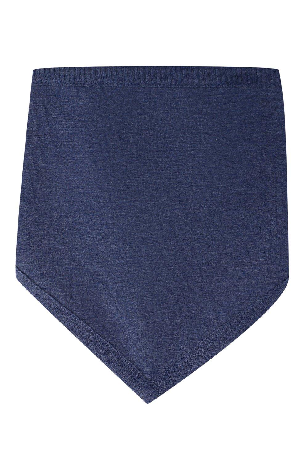 Детский комплект из 3-х предметов BURBERRY голубого цвета, арт. 8013864   Фото 4
