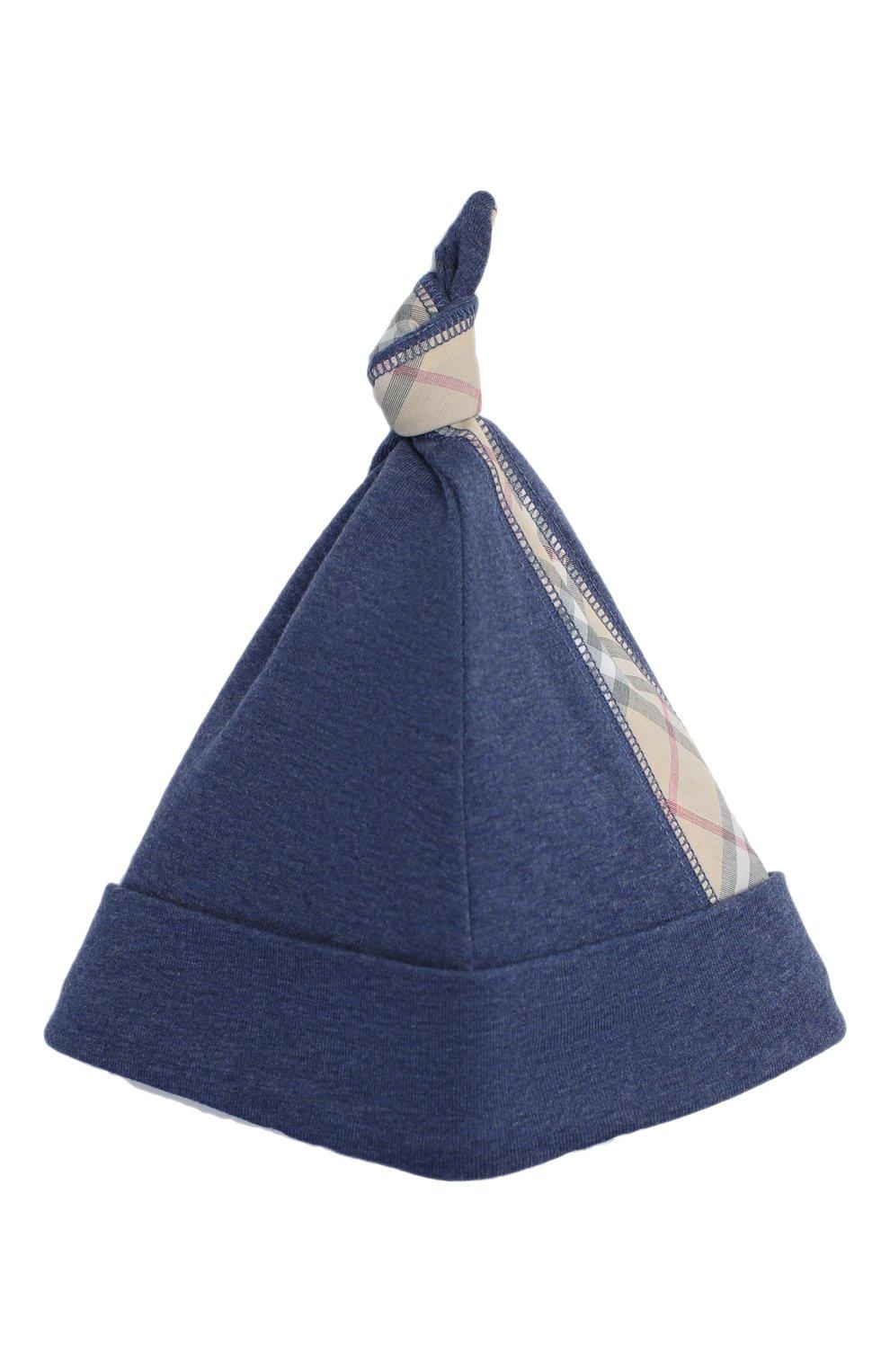Детский комплект из 3-х предметов BURBERRY голубого цвета, арт. 8013864   Фото 6