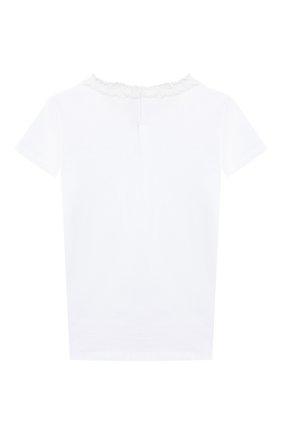 Детская хлопковая футболка IL GUFO белого цвета, арт. P20TS240M0014/10A-12A | Фото 2