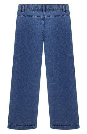 Детские джинсы BURBERRY темно-синего цвета, арт. 8023021 | Фото 2