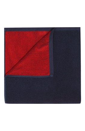 Детского хлопковое полотенце EMPORIO ARMANI темно-синего цвета, арт. 408509/0P219 | Фото 1