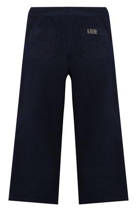 Детского хлопковые брюки POLO RALPH LAUREN синего цвета, арт. 313765781 | Фото 2
