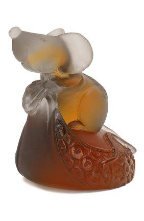 Мужская статуэтка мышь DAUM коричневого цвета, арт. 05665-1 | Фото 1