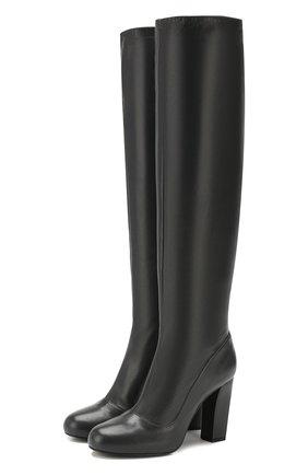 Женские кожаные сапоги LEMAIRE темно-серого цвета, арт. W 194 F0258 LL130 | Фото 1