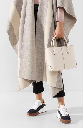 Женская сумка d-styling TOD'S белого цвета, арт. XBWDBAA0200RII | Фото 2