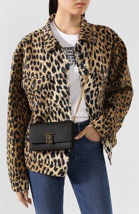 Женская сумка carrie BURBERRY черного цвета, арт. 8022355   Фото 2