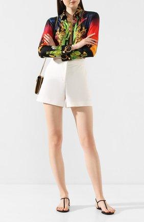 Женские сандалии diana RENE CAOVILLA черного цвета, арт. C10210-010-R001V050 | Фото 2